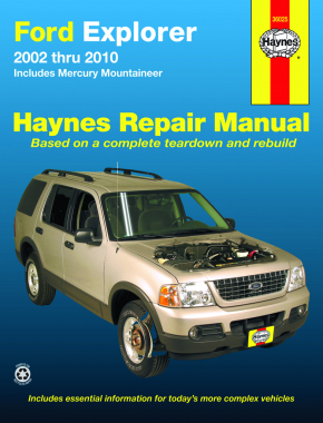 Ford Explorer & Mercury Mountaineer (2002-2010) Haynes Repair Manual (USA)