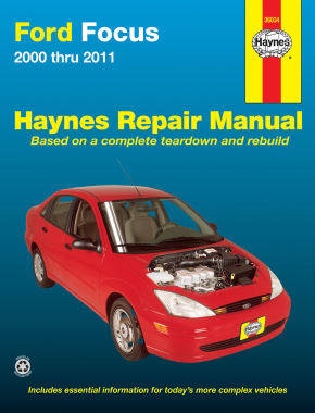 Ford Focus (2000-2011) Haynes Repair Manual (USA)