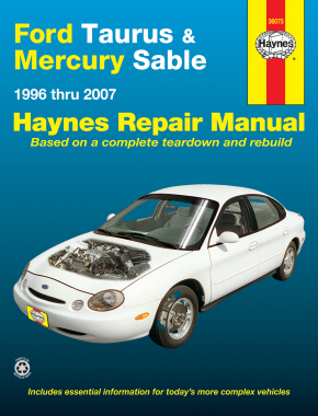 Ford Taurus & Mercury Sable (1996-2007) Haynes Repair Manual (USA)