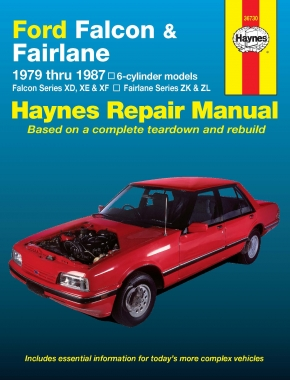 Ford Falcon and Fairlane (79-87) Haynes Repair Manual