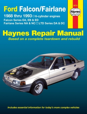 Ford Falcon, Fairlane and LTD (88-93) Haynes Repair Manual