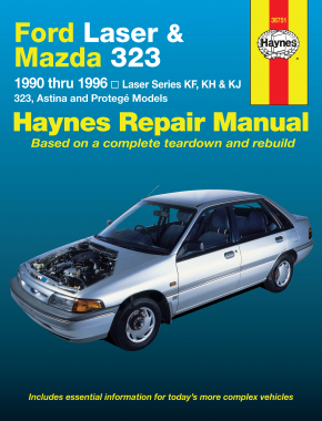 Ford Laser and Mazda 323 (90-96) Haynes Repair Manual
