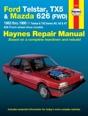 Ford Telstar and Mazda TX5 and 626 (83-90) Haynes Repair Manual