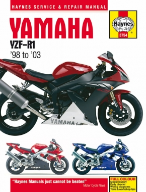 Yamaha YZF-R1 (98 - 03) Haynes Repair Manual