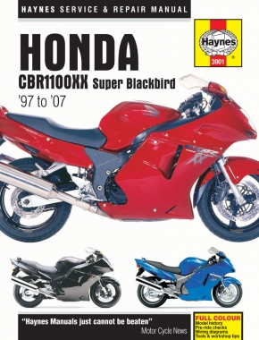 Honda CBR1100XX Super Blackbird (97 - 07) Haynes Repair Manual