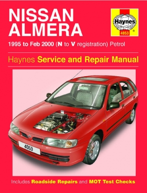 Nissan Almera Petrol (95 - Feb 00) Haynes Repair Manual