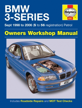 BMW 3-Series Petrol (Sept 98 - 06) Haynes Repair Manual