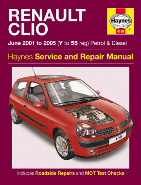 Renault Clio Petrol & Diesel (Jun 01 - 05) Haynes Repair Manual