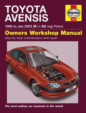 Toyota Avensis Petrol (98 - Jan 03) Haynes Repair Manual