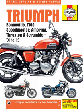 Triumph Bonneville (01 - 15) Haynes Repair Manual