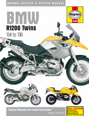 BMW R1200 Twins (04 - 09) Haynes Repair Manual
