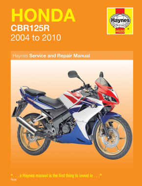 Honda CBR125R (04 - 10) Haynes Repair Manual