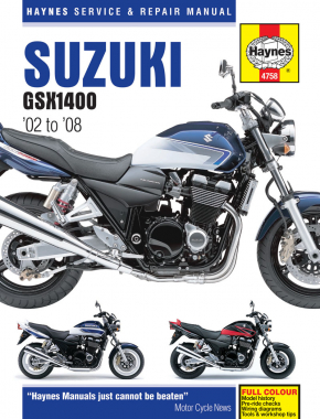 Suzuki GSX1400 (02 - 08) Haynes Repair Manual