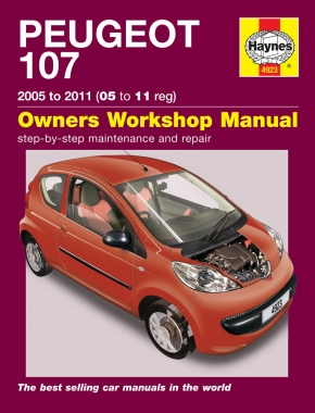 Peugeot 107 Petrol (05 - 11) Haynes Repair Manual