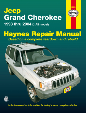 Jeep Grand Cherokee (1993-2004) Haynes Repair Manual (USA)