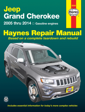 Jeep Grand Cherokee (2005-2014) Haynes Repair Manual (USA)