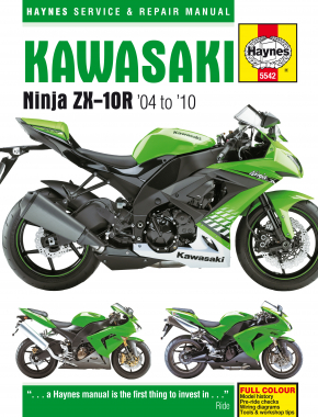 Kawasaki Ninja ZX-10R (04 - 10) Haynes Repair Manual
