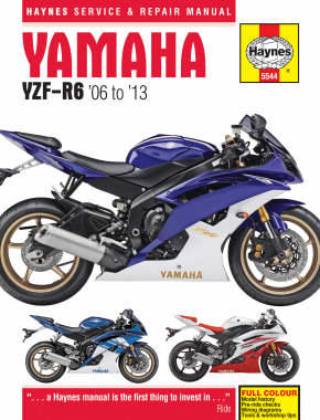 Yamaha YZF-R6 (06-13) Haynes Repair Manual