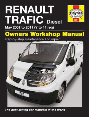 Renault Trafic Diesel (01 - 11) Haynes Repair Manual