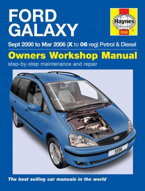 Ford Galaxy Petrol & Diesel (00 - 06) Haynes Repair Manual