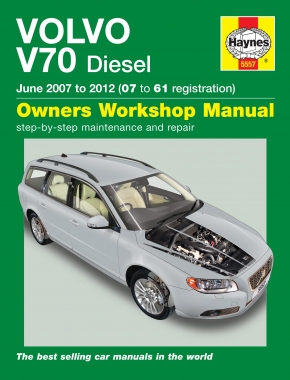 Volvo V70 Diesel (June 07 – 12) Haynes Repair Manual