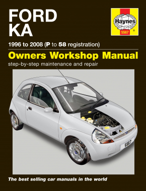 Ford Ka (96 - 08) Haynes Repair Manual