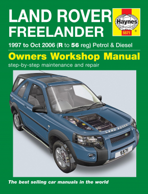 Land Rover Freelander (97 - Oct 06) Haynes Repair Manual