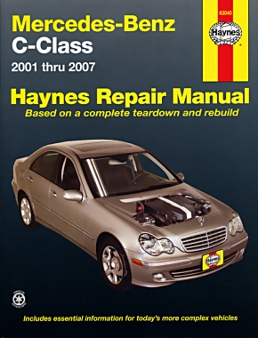 Mercedes-Benz C-Class (2001-2007) Haynes Repair Manual (USA)