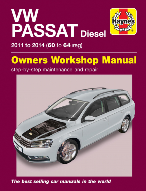 Volkswagen Passat Diesel (11-14) 60 to 64 Haynes Repair Manual