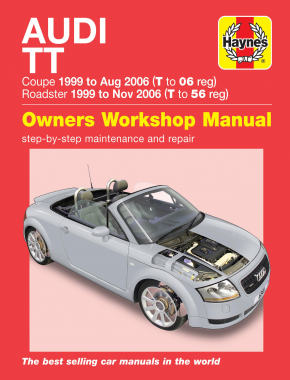 Audi TT (99 to 06) T to 56 Haynes Repair Manual