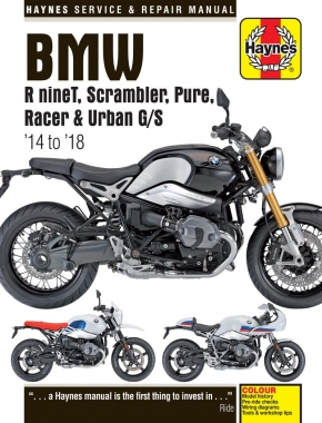 BMW R nineT (2014 - 2018) Haynes Repair Manual