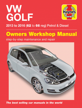 VW Golf petrol & diesel (13-16) 62 to 66 Haynes Repair Manual