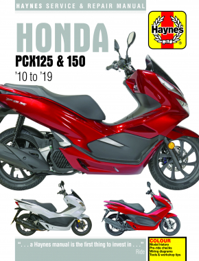 Honda PCX125 & 150 Scooters (10-19) Haynes Repair Manual