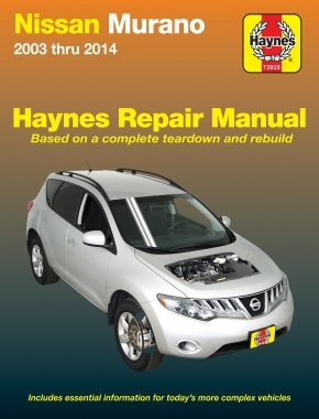 Nissan Murano (2003-2014) Haynes Repair Manual (USA)
