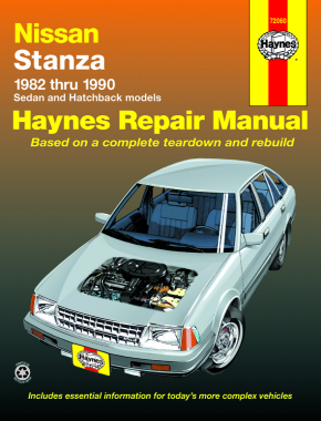 Nissan Stanza (1982-1990) Haynes Repair Manual (USA)