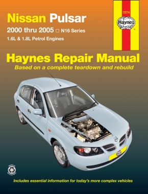Nissan Pulsar (00-05) Haynes Repair Manual