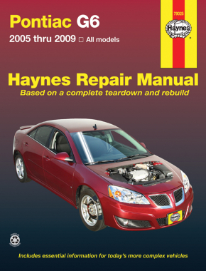 Pontiac G6 (2005-2009) Haynes Repair Manual (USA)