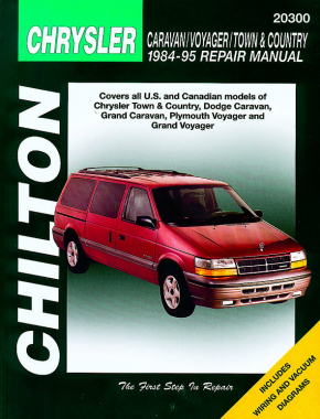 Chrysler Town & Country, Dodge Caravan, Grand Caravan, Plymouth Voyager and Grand Voyager (84 - 95) Haynes Repair Manual (USA)