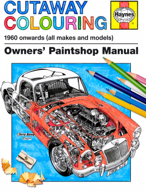 Classic Cutaways Colouring Book