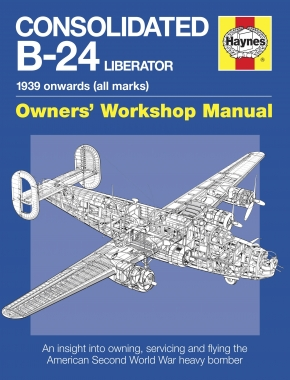 Consolidated B-24 Liberator Manual (Paperback)