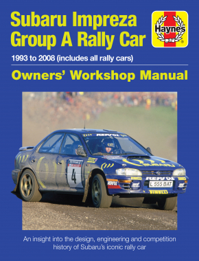 Subaru Impreza Group A Rally - Workshop Manual