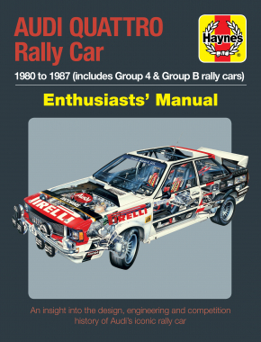Audi Quattro Rally Car Manual