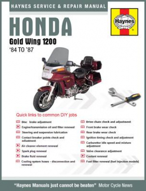 Honda Gold Wing 1200 (84-87) Haynes Online Manual