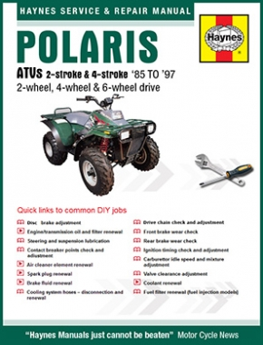 Polaris ATVs (85-97) Haynes Online Manual