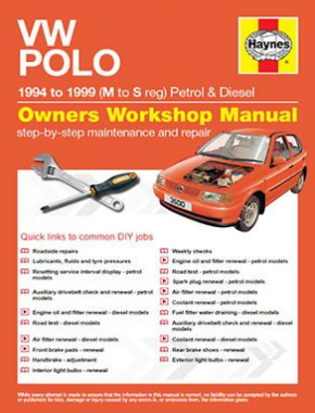 VW Polo Hatchback Petrol and Diesel (94 - 99) M to S Haynes Online Manual
