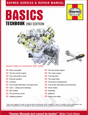 Motorcycle Basics Techbook Haynes Online Manual