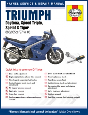 Triumph Fuel Injected Triples 1997 - 2005 Haynes Online Manual