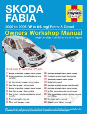 Skoda Fabia Petrol and Diesel (00 - 06) W to 06 Haynes Online Manual