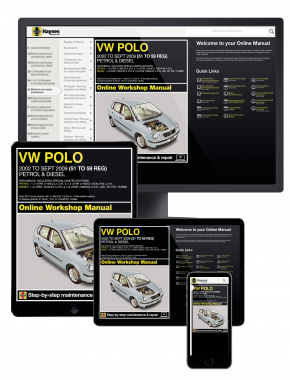 VW Polo Petrol and Diesel (02 - Sept 09) 51 to 59 Haynes Online Manual