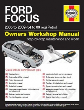 Ford Focus Petrol (05 - 11) 54 to 61 Haynes Online Manual